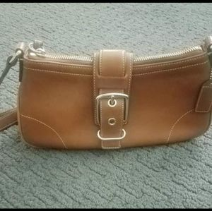Coach Saddle Buckle Crossbody